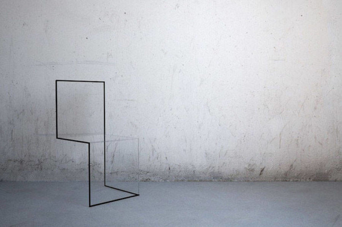 Design l 39 illusione ottica nelle sedie di nn design band for Sedie design furniture e commerce