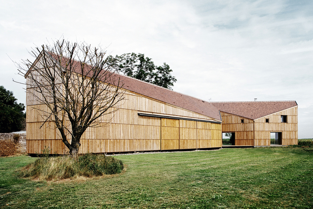 maison hangar agricole i cagny guillaume ramillien