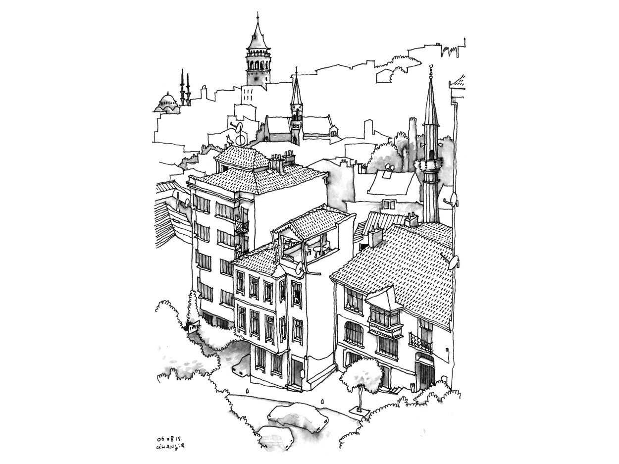 Turquie i carnet de voyage guillaume ramillien for Architecture urbanisme